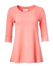 Fancy Free Coral Cotton Thermal Top
