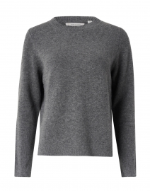 Essential Grey Cashmere Sweater