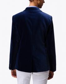 Max Mara Studio - Bruno Navy Velvet Blazer