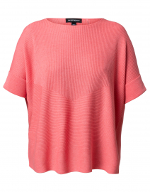 Flamingo Pink Cotton Viscose Sweater