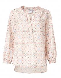Stephanie Multi Printed Cotton Top