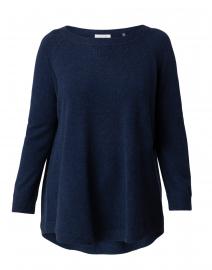Navy Cashmere Sweatshirt