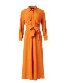 Pulvino Tangerine Silk Shirt Dress