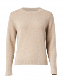 Essential Oatmeal Beige Cashmere Sweater