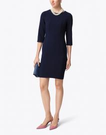 Rosso35 - Navy Sheath Dress
