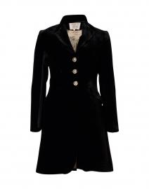 Black Classic Velvet Coat