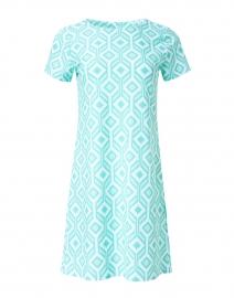 Ella Seafoam Geometric Printed Dress