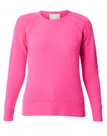 Hibiscus Pink Wool and Cashmere Sweater