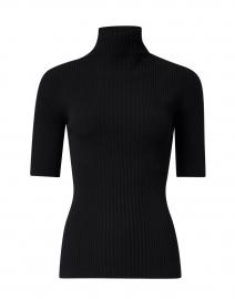 Sudir Black Turtleneck Sweater