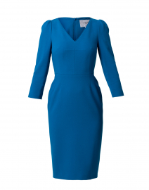 Mai Blue Crepe Dress