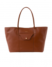 Miami Cognac Leather Tote