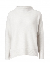 Grey Boiled Cashmere Sweater
