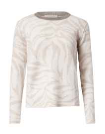 Pearl Animal Intarsia Cashmere Sweater