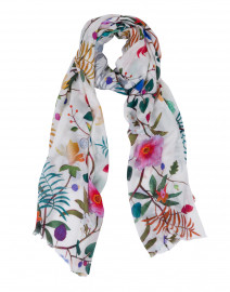 Melody Multicolored Floral Printed Scarf