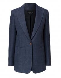 Hurley Blue Linen and Wool Blazer
