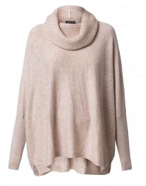 Beige Wool Cashmere Sweater