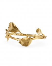 Gold Vine and Branch Bangle Bracelet