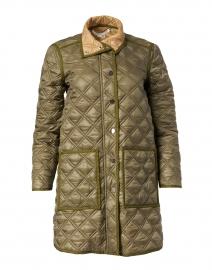 Inigo Green Quilted Coat