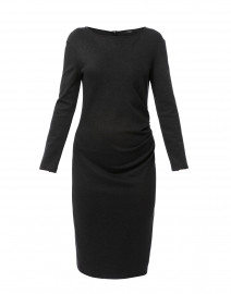 Gianni Dark Grey Jersey Dress