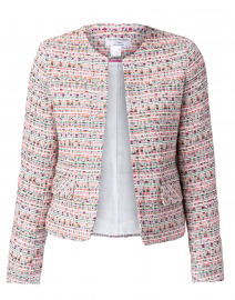 Judy Pink Short Tweed Jacket
