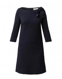 Jemma Dark Navy Jersey Tunic Dress