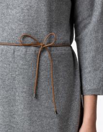Fabiana Filippi - Grey Knit Dress with Underlayer