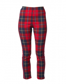 Plaidly Red Plaid Pull-On Pant