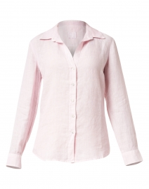 Pale Pink Linen Essential Shirt