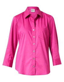 Alex Raspberry Pink Cotton Shirt