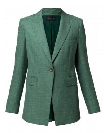 Heather Elm Green Marled Wool Jacket