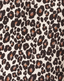 Marc Cain - Brown Animal Print Polo Top