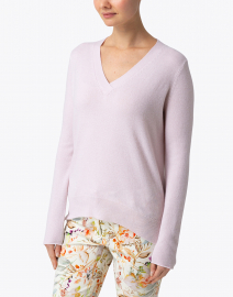 Allude - Pale Pink Cashmere Sweater