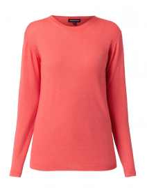 Coral Sustainable Cashmere Sweater