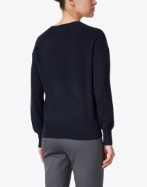 White + Warren - Deep Navy Essential Cashmere Sweater