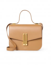 Vancouver Deep Toffee Leather Crossbody Bag