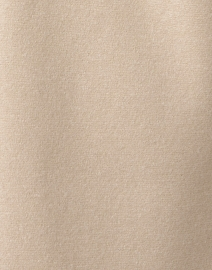 Harris Wharf London - Almond Beige Pressed Wool Kimono Coat