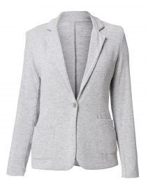 Grey Heather French Terry Blazer