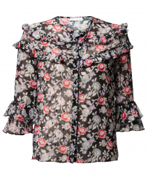 Mamie Floral Print Blouse