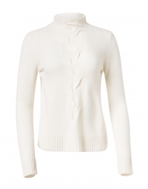 Ivory Cashmere Cable Sweater