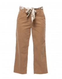 Claire Camel Corduroy Cotton Pant