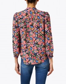 Shoshanna - Campbell Pink Multi Floral Print Blouse