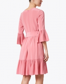 Soler - Pia Bubblegum Pink Silk Georgette Dress