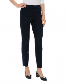 Ecru - Madison Navy Cotton Power Stretch Pant