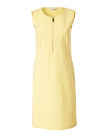 Audren Sunglow Yellow Stretch Cotton Dress