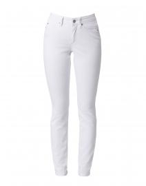 Cambio - Parla White Stretch Denim Jean