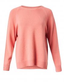 Pink Wool Cashmere Silk Sweater