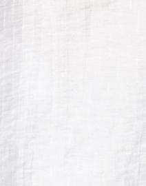 Emporio Armani - White Jacquard Henley Top