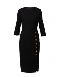 Dhenia Black Midi Dress