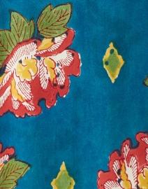 Lisa Corti - Milla Peacock Peony Printed Cotton Kaftan