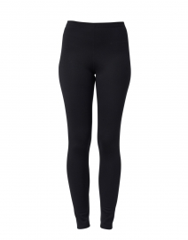 Black Punto Milano Stretch Legging